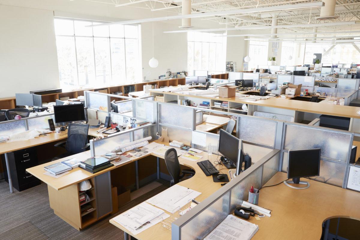 Bureau Plan De Travail la cloison amovible dans un bureau de travail