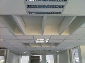 Faux plafond pour bureaux