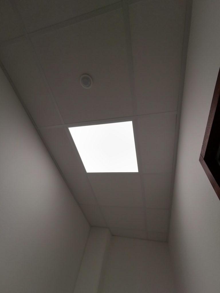 Chantier faux plafond