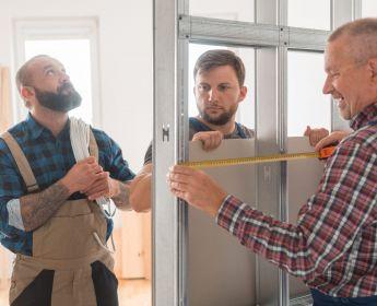 Cloison en placoplatre : 2 façons d'effectuer les réparations